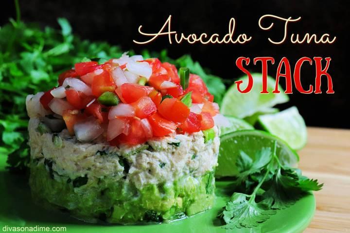 (Patti Diamond) Pico de gallo gives bland, boring tuna a spicy Latin flair. When stacked with a ...