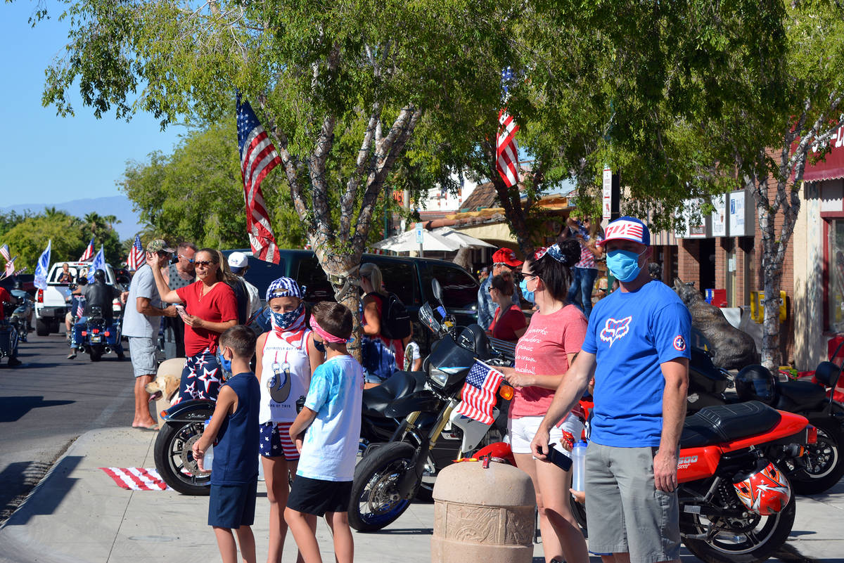 Celia Shortt Goodyear/Boulder City Review People came to downtown Boulder City on Saturday, Jul ...