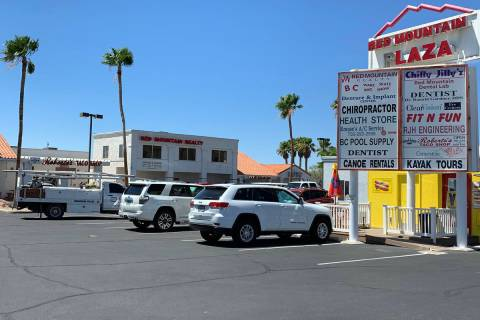 Hali Bernstein Saylor/Boulder City Review The Red Mountain Plaza is receiving up to $9,416 in g ...