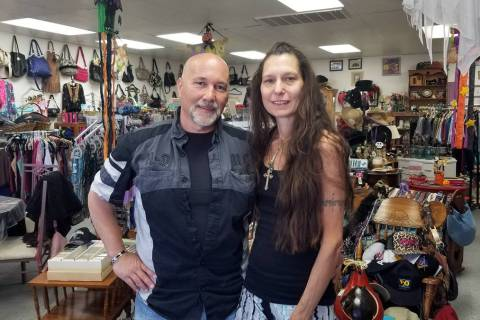 Darren Mancusi and his wife, Lucia Patane, are closing their store, Treasure Finds, 1660 Boulde ...