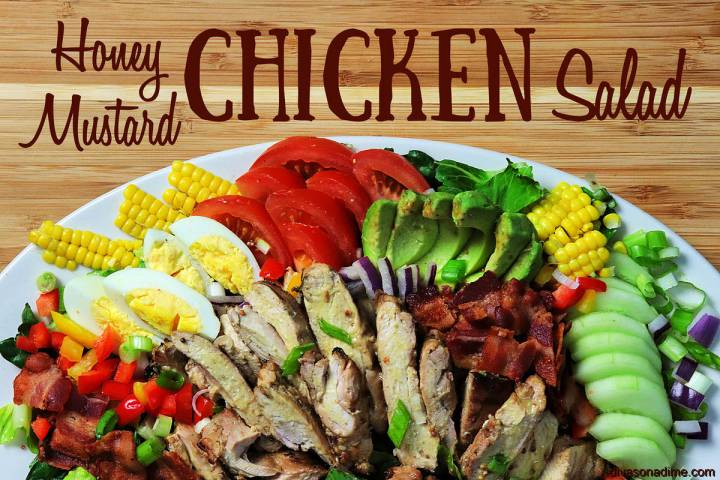 Patti Diamond The Honey Mustard Chicken salad is a summer family favorite, and the dressing dou ...