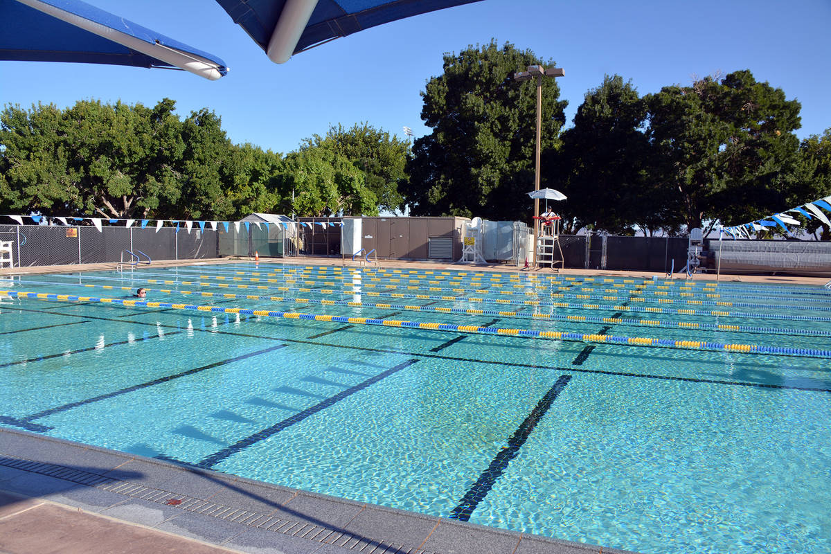 Celia Shortt Goodyear/Boulder City Review People can cool off at Boulder City Pool, 861 Avenue ...