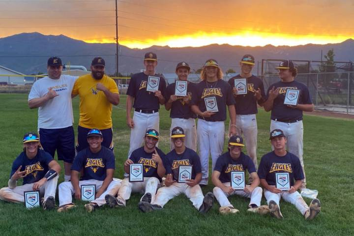 Southern Nevada Eagles Boulder City's Southern Nevada Eagles baseball team takes first place a ...