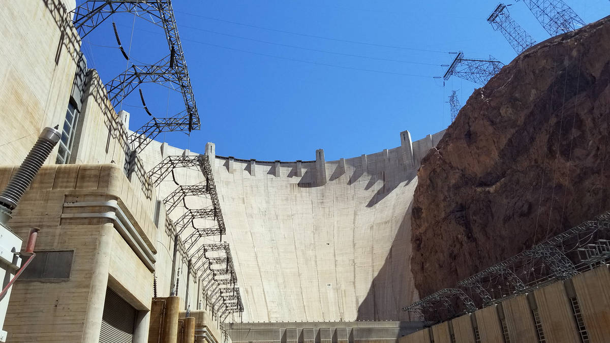 Celia Shortt Goodyear/Boulder City Review Hoover Dam can generate more than 2,000 megawatts of ...