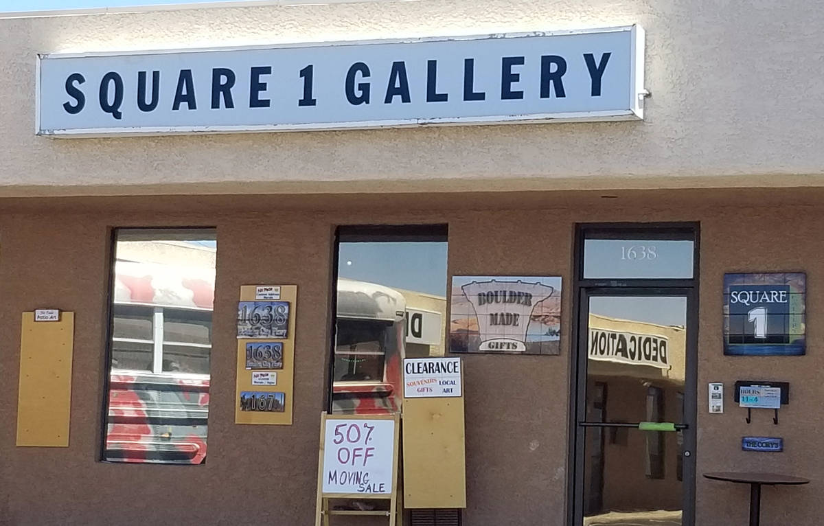Celia Shortt Goodyear/Boulder City Review Kevin and Darcy Cory have closed Square 1 Gallery, 16 ...