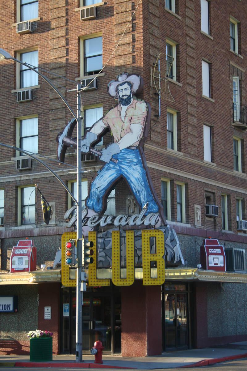 (Deborah Wall) Ely's Hotel Nevada and Gambling Hall was built in 1929.