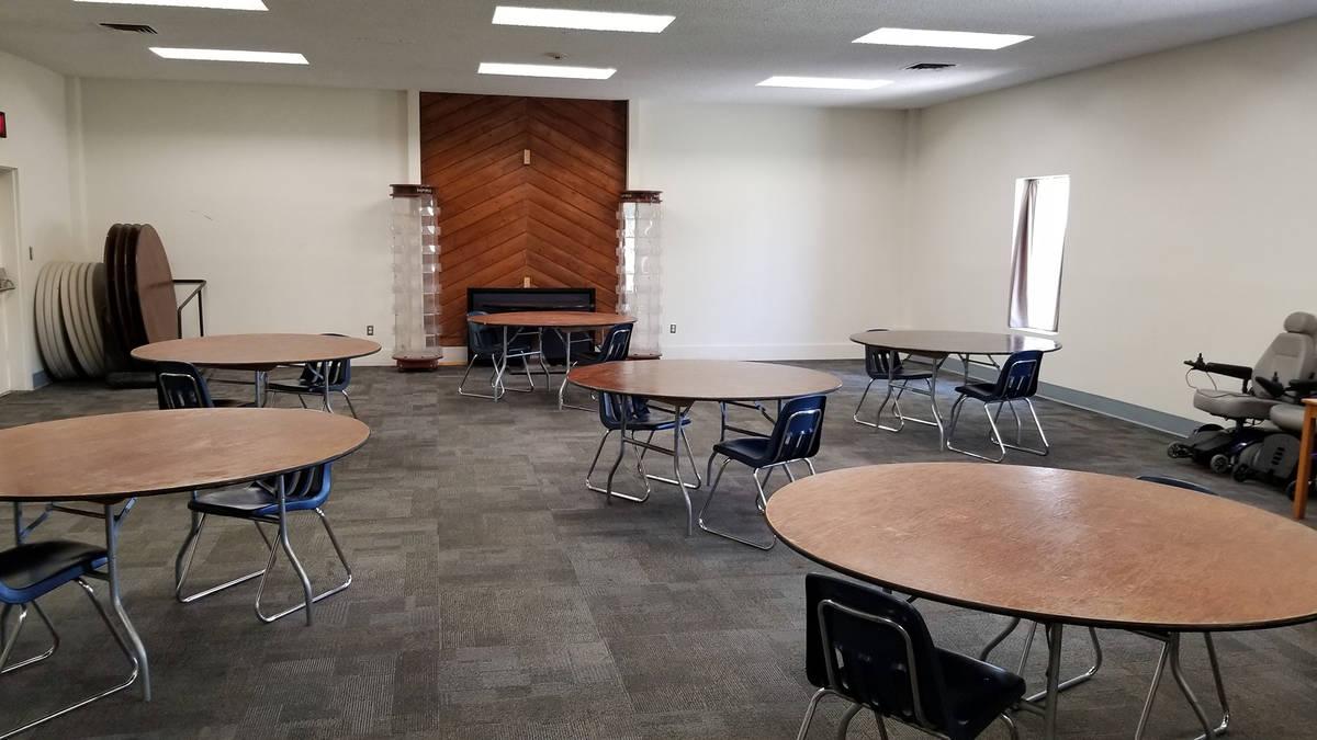 Celia Shortt Goodyear/Boulder City Review Christian Center Church, 571 Adams Blvd., is making i ...
