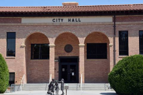 Celia Shortt Goodyear/Boulder City Review Counsel for City Attorney Steve Morris and City Manag ...