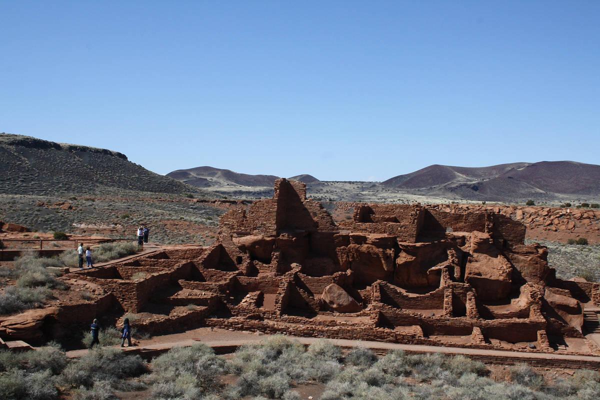 (Deborah Wall) Wupatki Pueblo is one of the highlights for visitors at Wupatki National Monumen ...