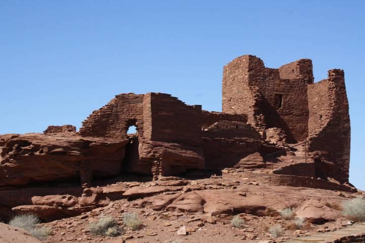 (Deborah Wall) Wukoki Pueblo, one of the best preserved pueblos in Wupatki National Monument in ...