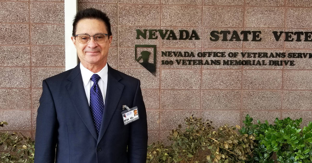 (Celia Shortt Goodyear/Boulder City Review) Eli Quinones is the new administrator of the Southe ...