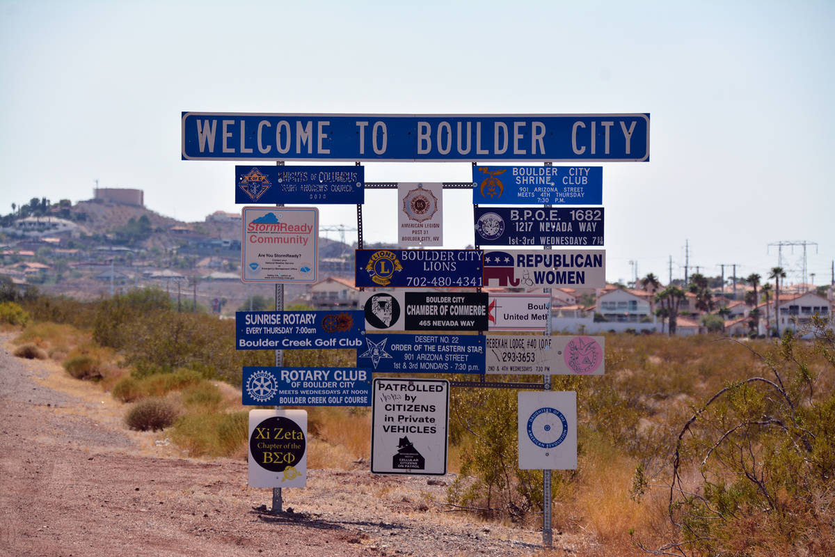 (Celia Shortt Goodyear/Boulder City Review) Some of Boulder City's leaders want to explore othe ...