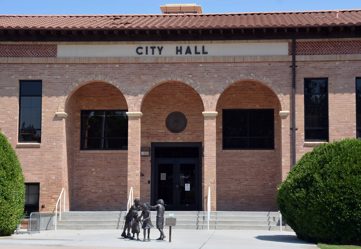 Celia Shortt Goodyear/Boulder City Review Money to pay for the city's legal representation in a ...