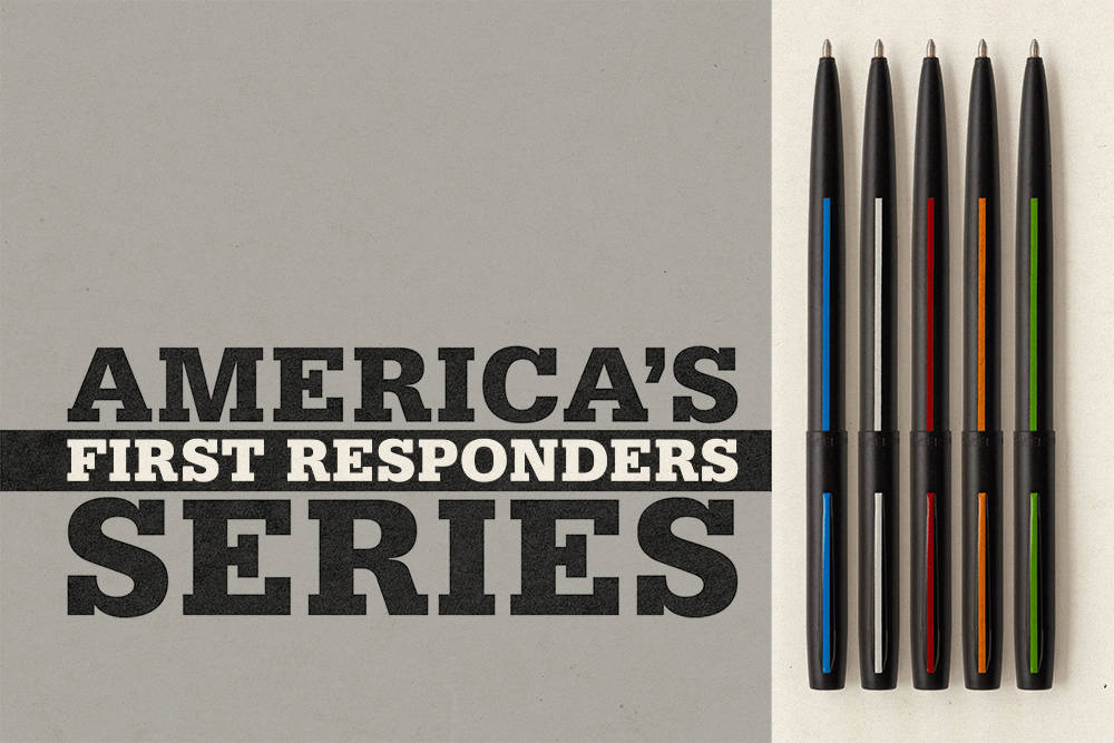 (Fisher Space Pen) Fisher Space Pen's new First Responder Series honors and benefits tho ...