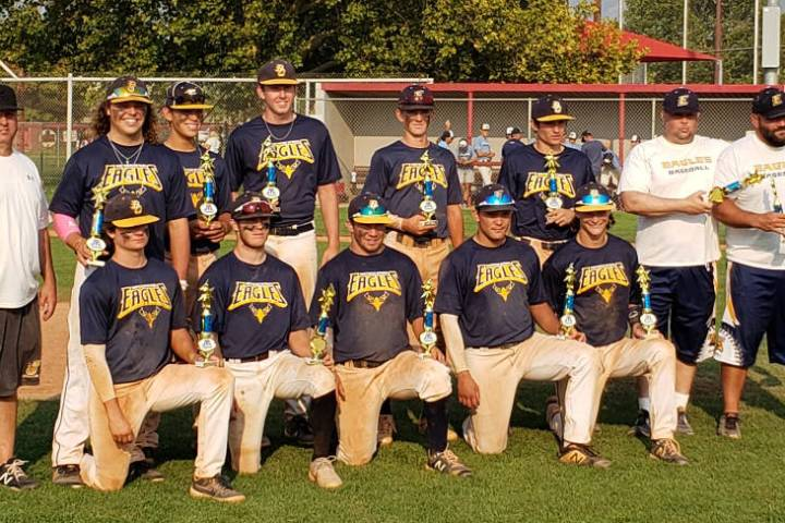(Steve Connell) The Southern Nevada Eagles 18u team from Boulder City won the Rocky Mountain Sc ...