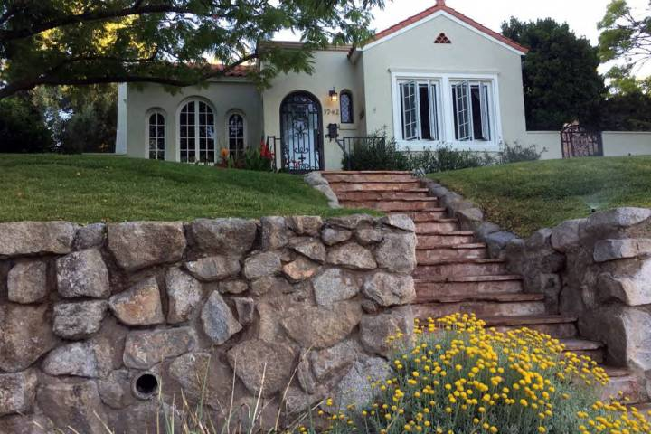 Celia Shortt Goodyear/Boulder City Review The house at 1342 Denver St. is the 2020 Historic Pre ...