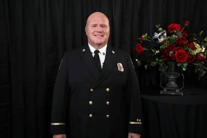 Walt West Boulder City firefighter and paramedic Walt West was recently named one of the 2020 W ...