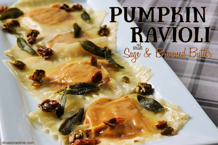 (Patti Diamond) Fried sage leaves, browned butter and candied nuts and seeds make an easy and t ...