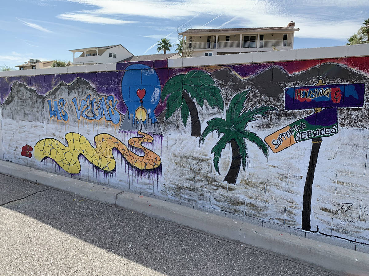 (Hali Bernstein Saylor/Boulder City Review) Homeless youth who are served by St. Jude's Ranch ...