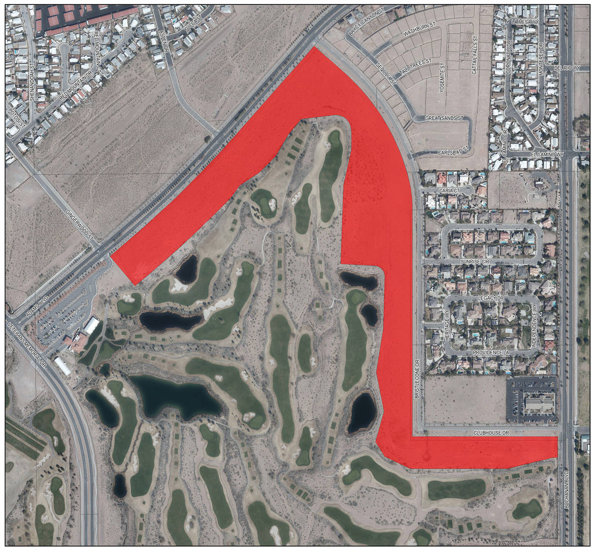 Boulder City The sale of tract 350, 45 acres of city-owned land adjacent to Boulder Creek Golf ...