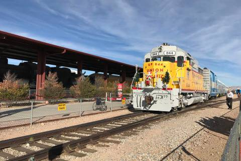 Local residents can visit three area museums, including the Nevada State Railroad Museum in Bou ...