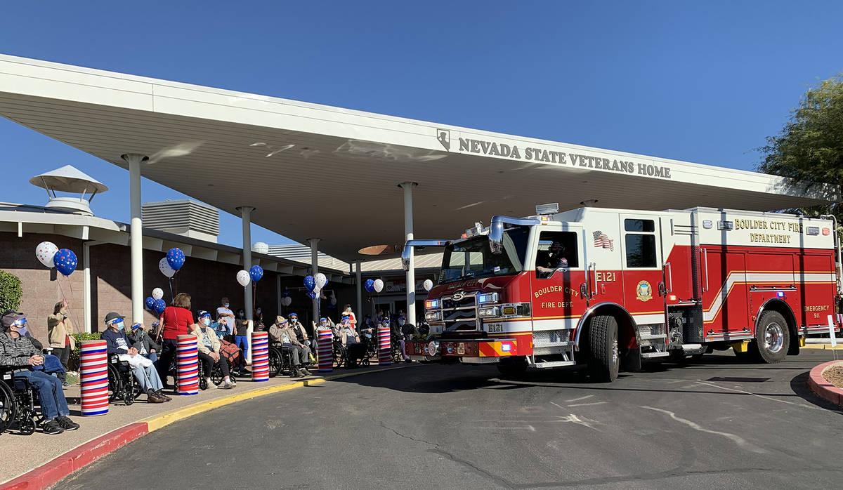(Hali Bernstein Saylor/Boulder City Review) Boulder City Fire Department and other first respon ...