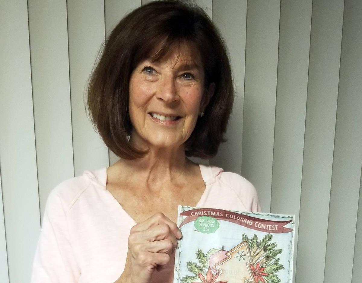 Celia Shortt Goodyear/Boulder City Review Barbara Garris won first place for her traditional de ...