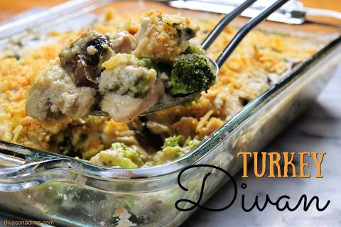 (Patti Diamond) Turkey Divan is a ideal way to stretch Thanksgiving leftovers or add new life t ...
