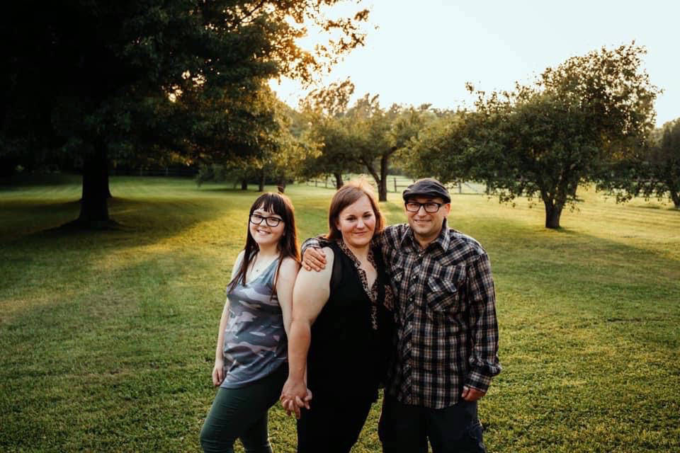 Lacey Leyman-Scarpa Lacey Leyman-Scarpa, middle, said her family will still be able to enjoy a ...