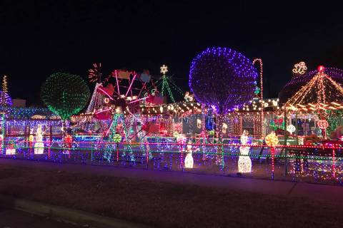 Just mention the Christmas house or the house on Fifth street and locals will know you can't ce ...