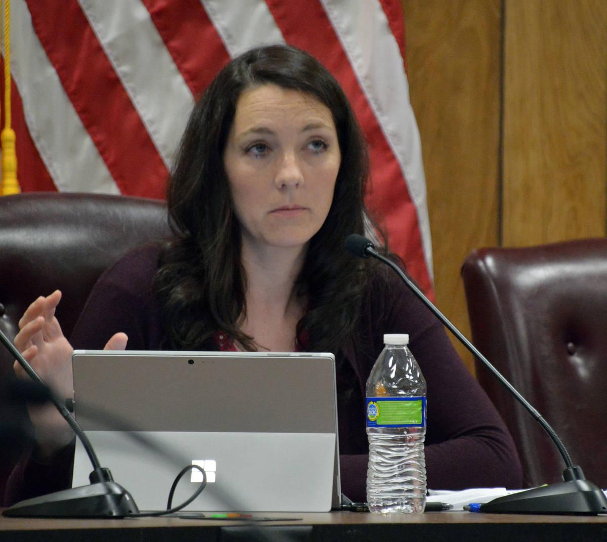 Councilwoman Tracy Folda