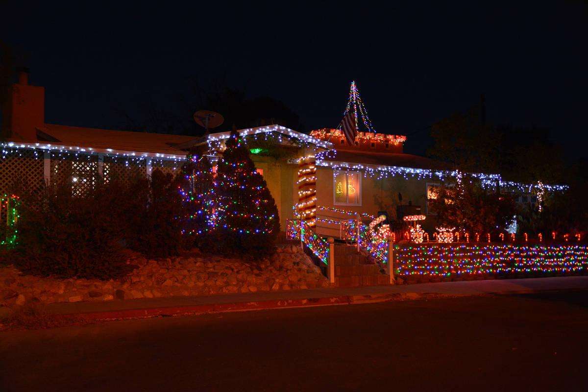 Celia Shortt Goodyear/Boulder City Review This home at the corner of Utah Street and Northridge ...