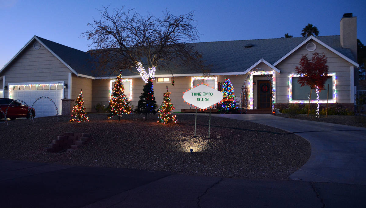 Celia Shortt Goodyear/Boulder City Review This home on Highland Drive offers lights and a show ...