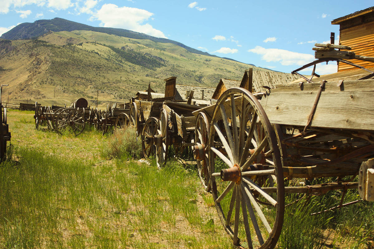 (Getty Images) Tenderfoot Station, near the middle of the Forty Mile Desert, became a stop for ...