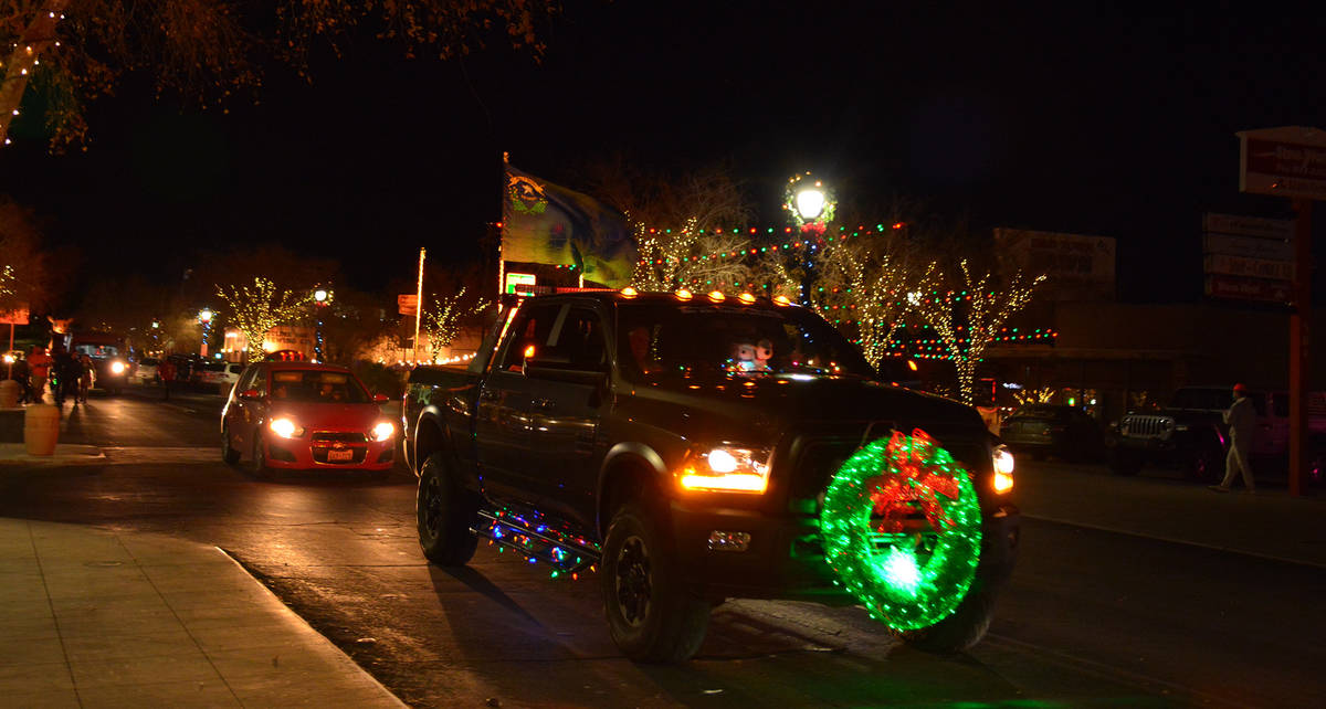 Celia Shortt Goodyear/Boulder City Review Even though the annual Santa's Electric Night Parade ...