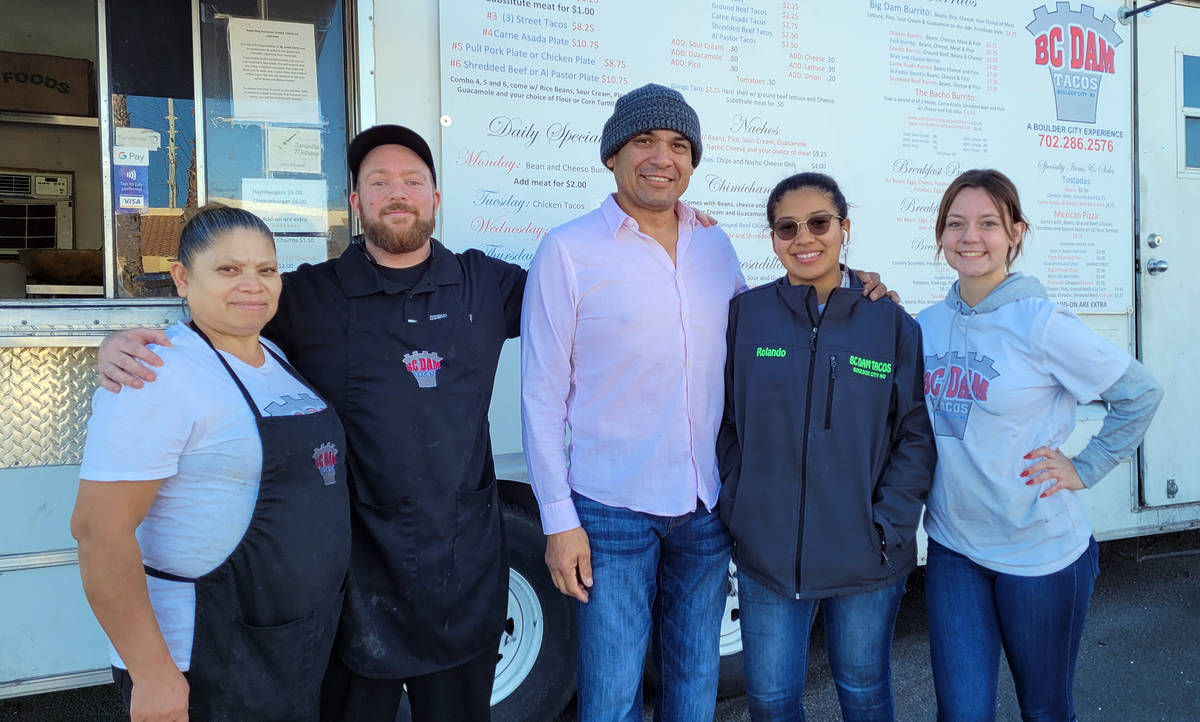 Celia Shortt Goodyear/Boulder City Review BC Dam Tacos, 708 Canyon Road, earned first place in ...