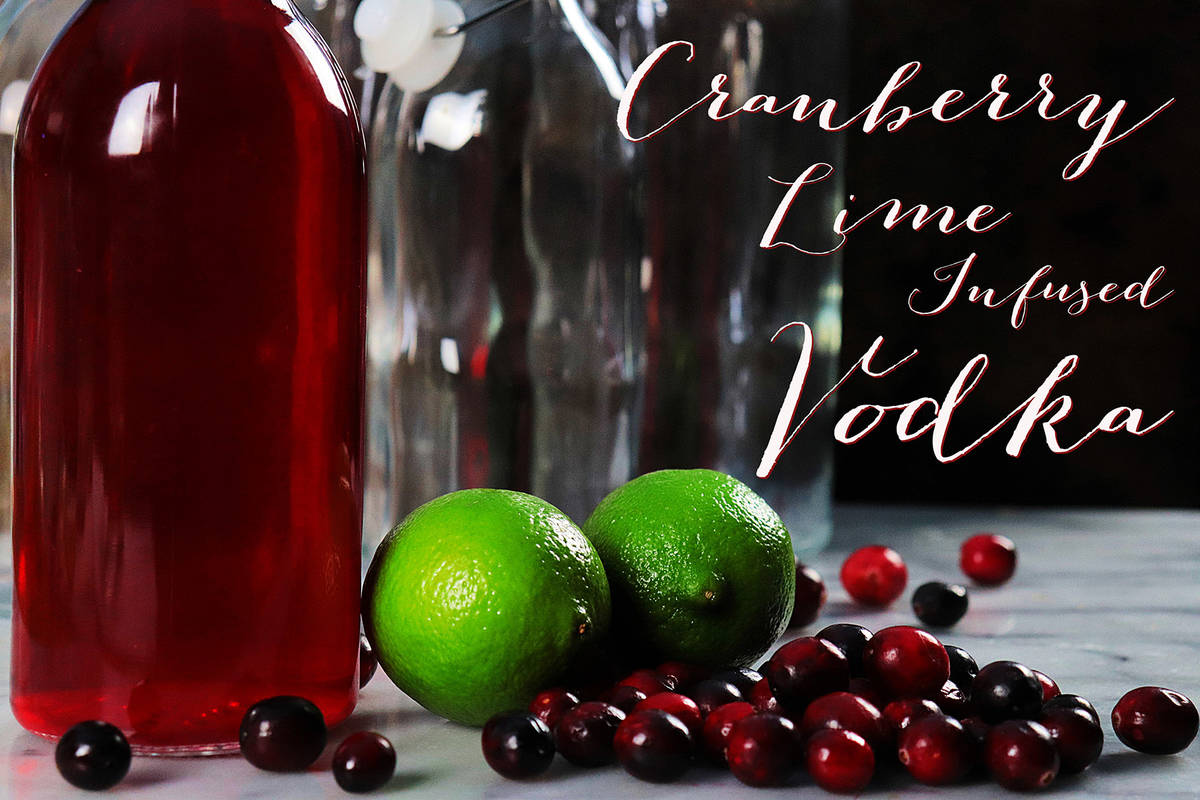 (Patti Diamond) Celebratory cocktails get an added boost when made with vodka infused with your ...