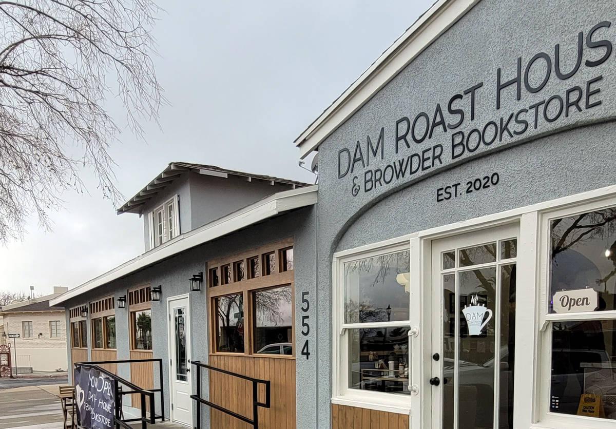 Celia Shortt Goodyear/Boulder City Review Dam Roast House & Browder Bookstore, 554 Nevada W ...