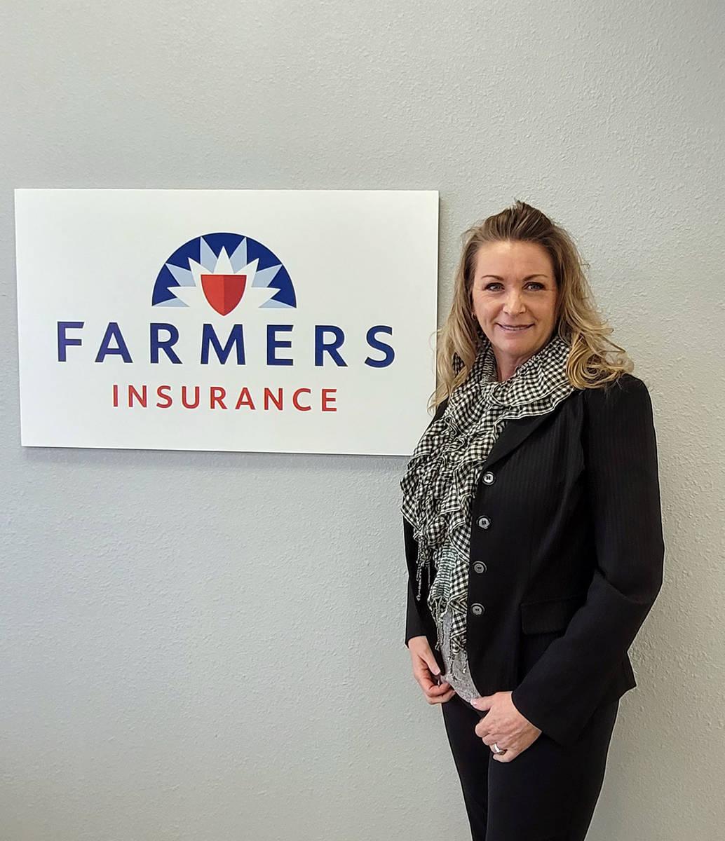 Celia Shortt Goodyear/Boulder City Review Dawn Lee recently opened a Farmers Insurance Agency b ...