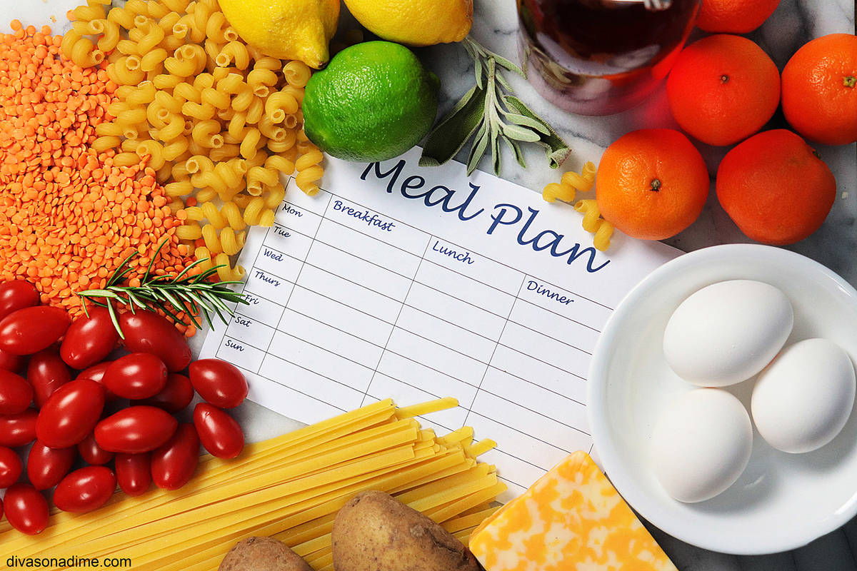 (Patti Diamond) Meal planning allows you to save time and money as all the ingredients you need ...