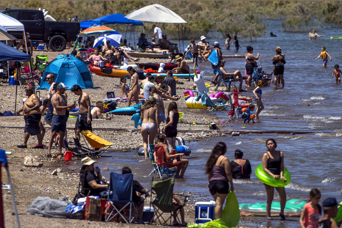 Outdoor recreation opportunities, such as visiting Boulder Beach at Lake Mead National Recreati ...
