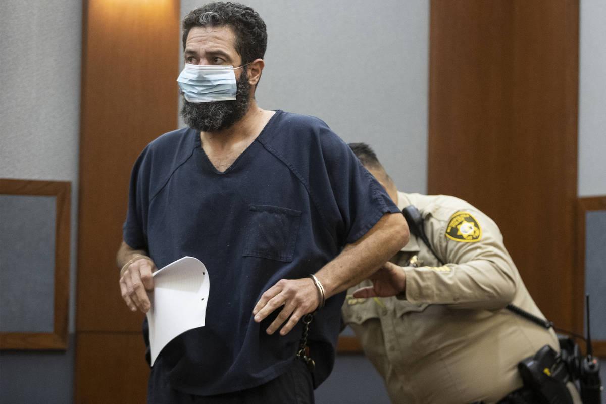 (Erik Verduzco / Las Vegas Review-Journal) Jordan Barson, charged with DUI in a crash that kill ...