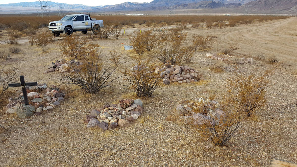(Leroy Dodge) Rosendin Electric recently found this small pet cemetery during a site survey for ...