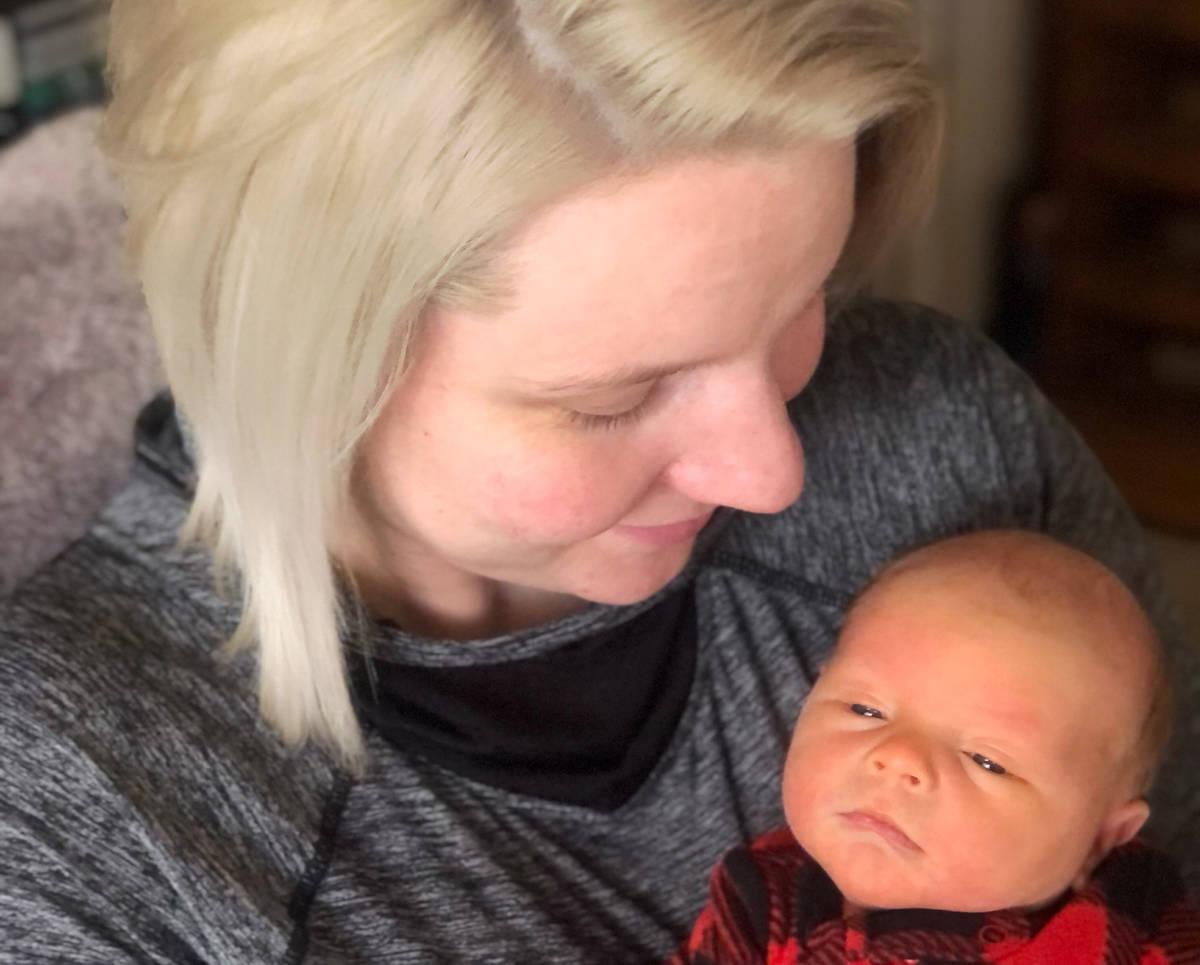 Elizabeth Gleich Boulder City resident Elizabeth Gleich delivered her son, Carter Gleich, at 1: ...