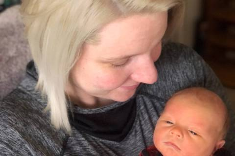 Elizabeth Gleich Boulder City resident Elizabeth Gleich delivered her son, Carter Gleich, at 1: ...