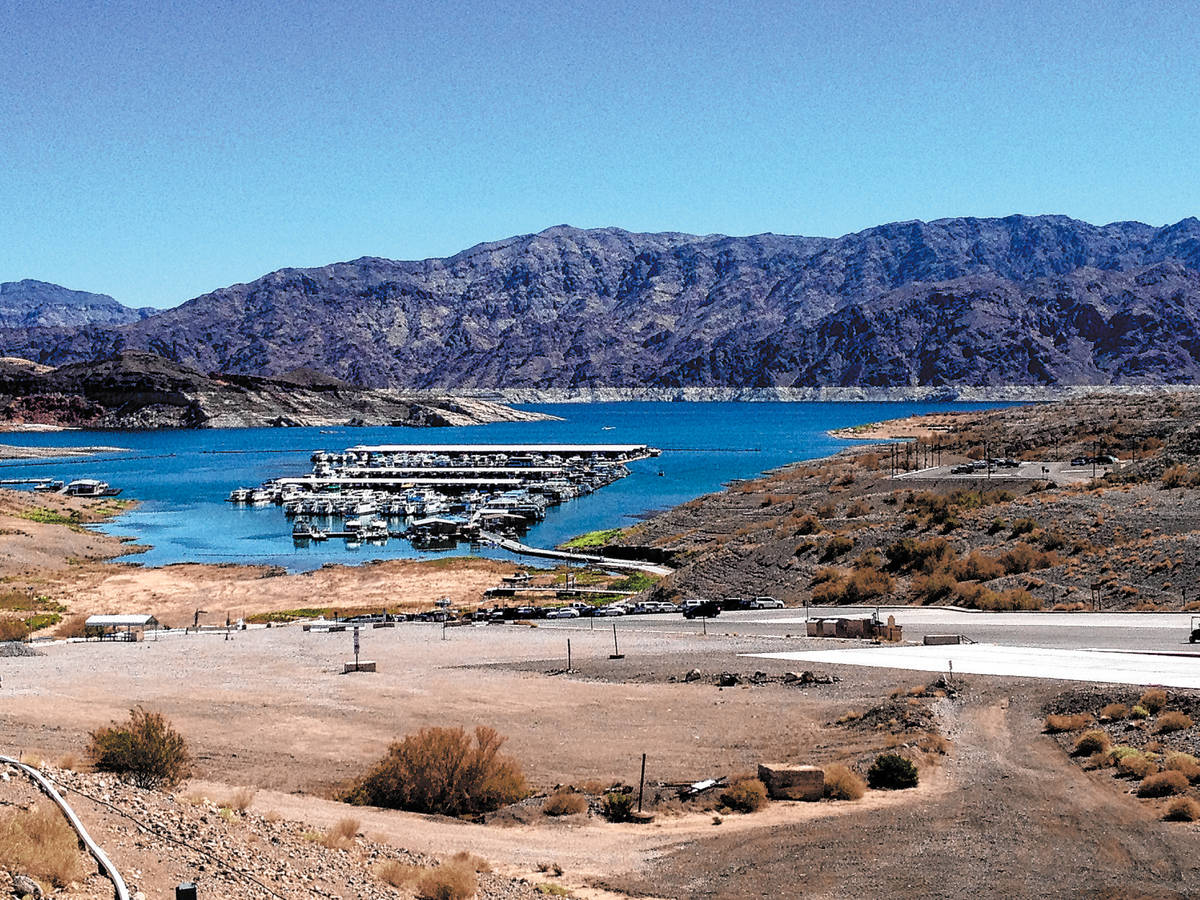 Callville Bay, as seen in this photo from 2014, was once a bustling city that served as a stopp ...