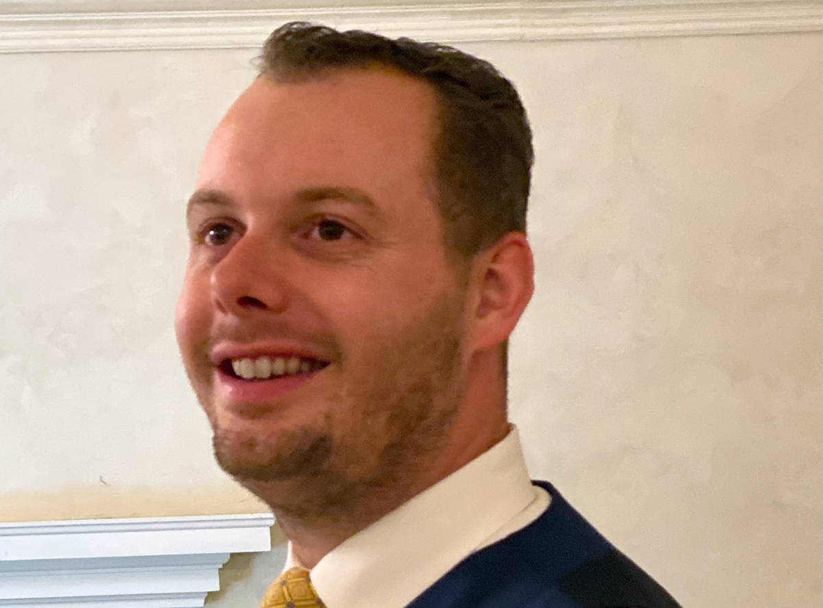 Christian Clinton Boulder City resident Christian Clinton said he is running for one of the Cou ...