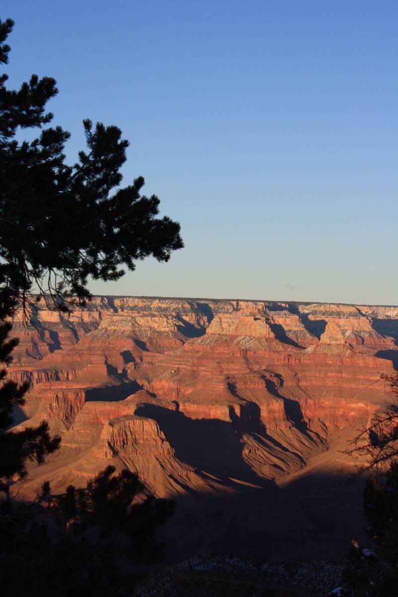 Grand Canyon National Park, Arizona encompasses 1,218,375 acres on the Colorado Plateau. (Debor ...