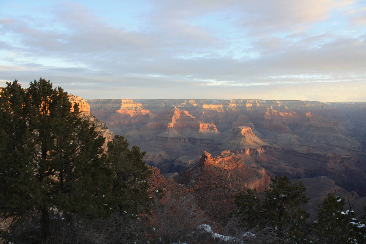 (Deborah Wall) Grand Canyon National Park, a World Heritage Site, offers some of the most stunn ...