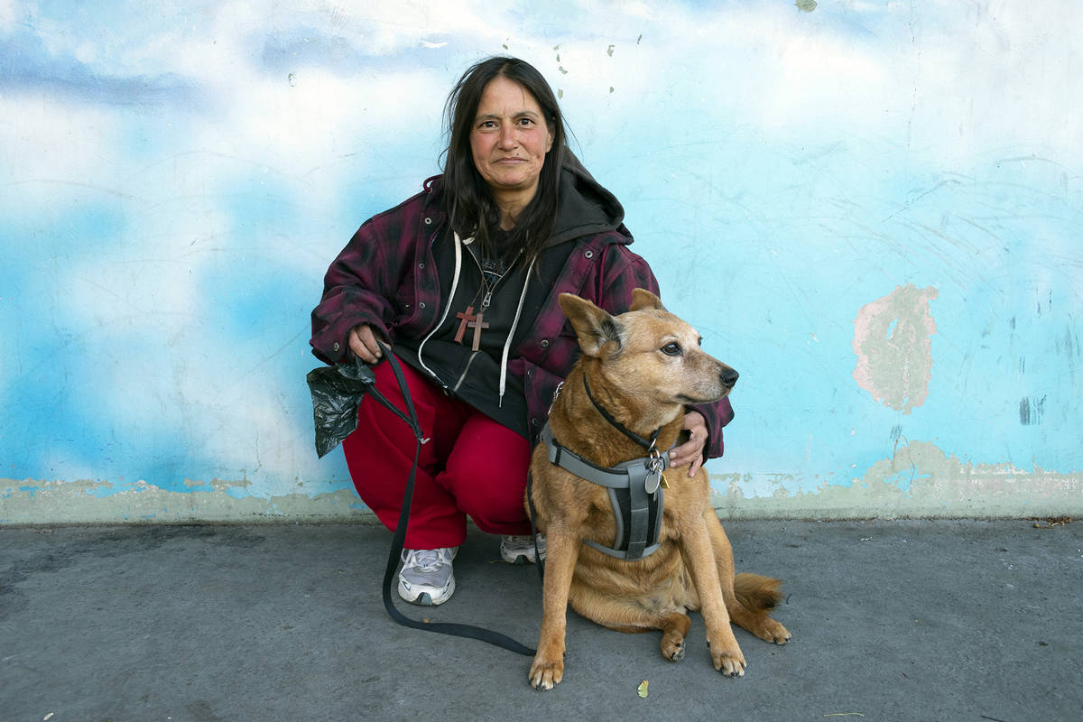 Lucia Starbuck/Our Town Reno The story of Annette and her dog Keika at Barbara Bennett Park in ...